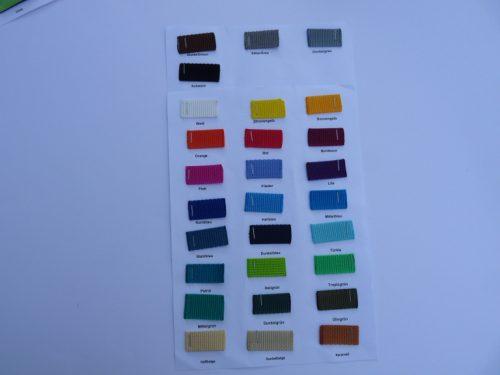 Gurtbandfarben