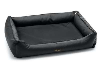 Dogius Bett schwarz
