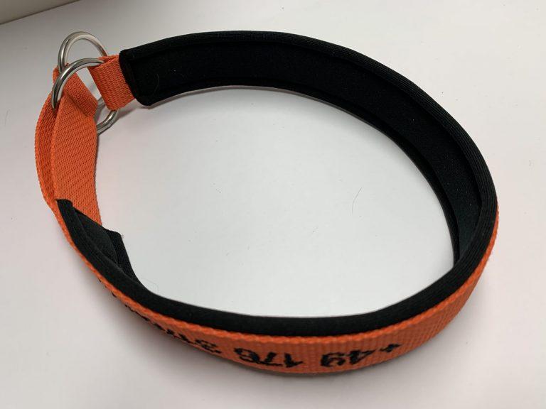 Halsband Zugstopp