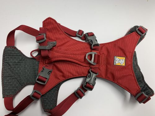 Ruffwear Geschirr Flagline red rock