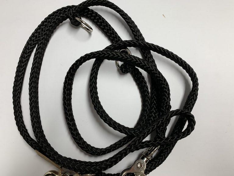 Seilleine schwarz