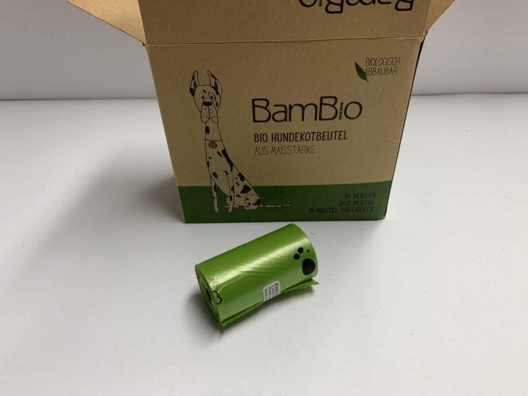 BamBio Hundekotbeutel aus Maisstärke